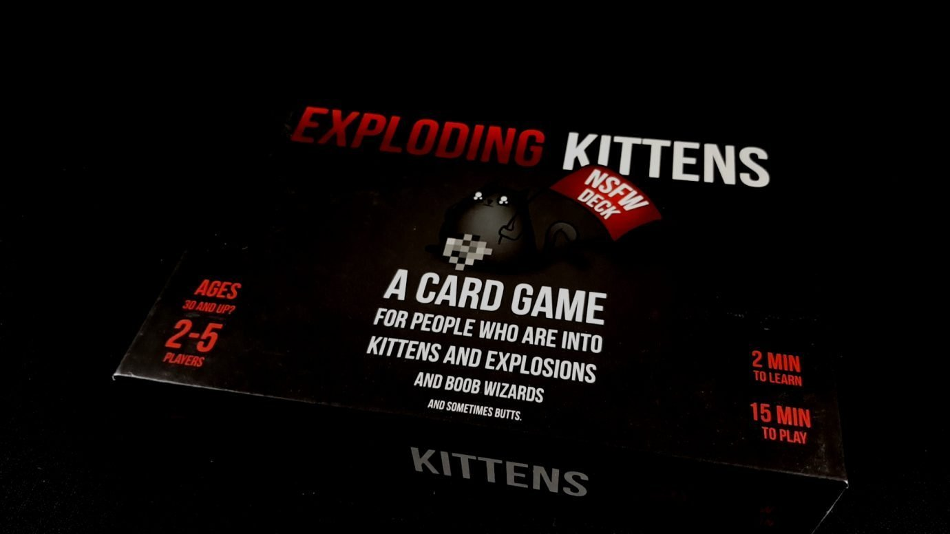 Exploding Kittens: NSFW Deck (2015) image