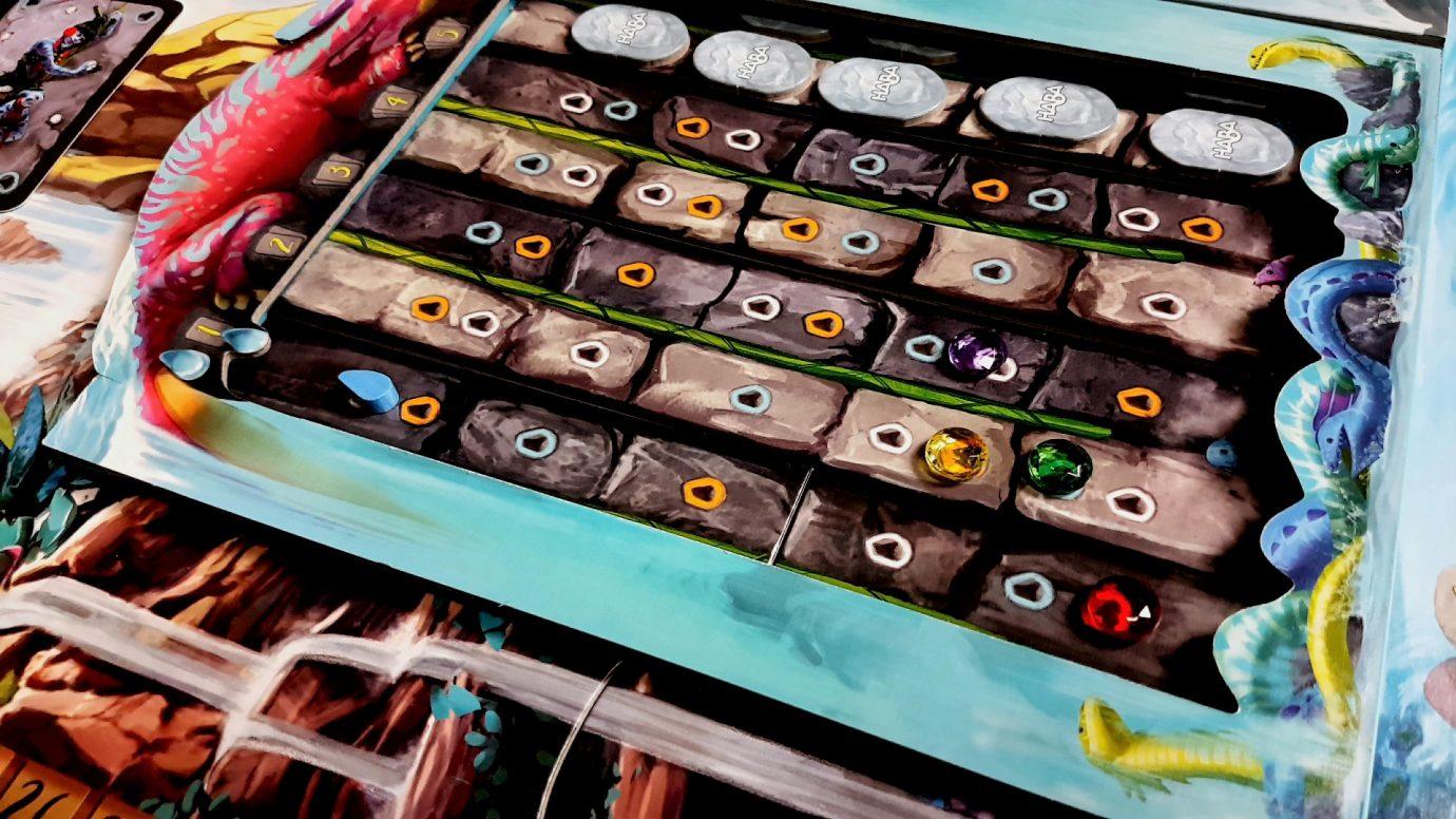 Placing gems in Iquazu