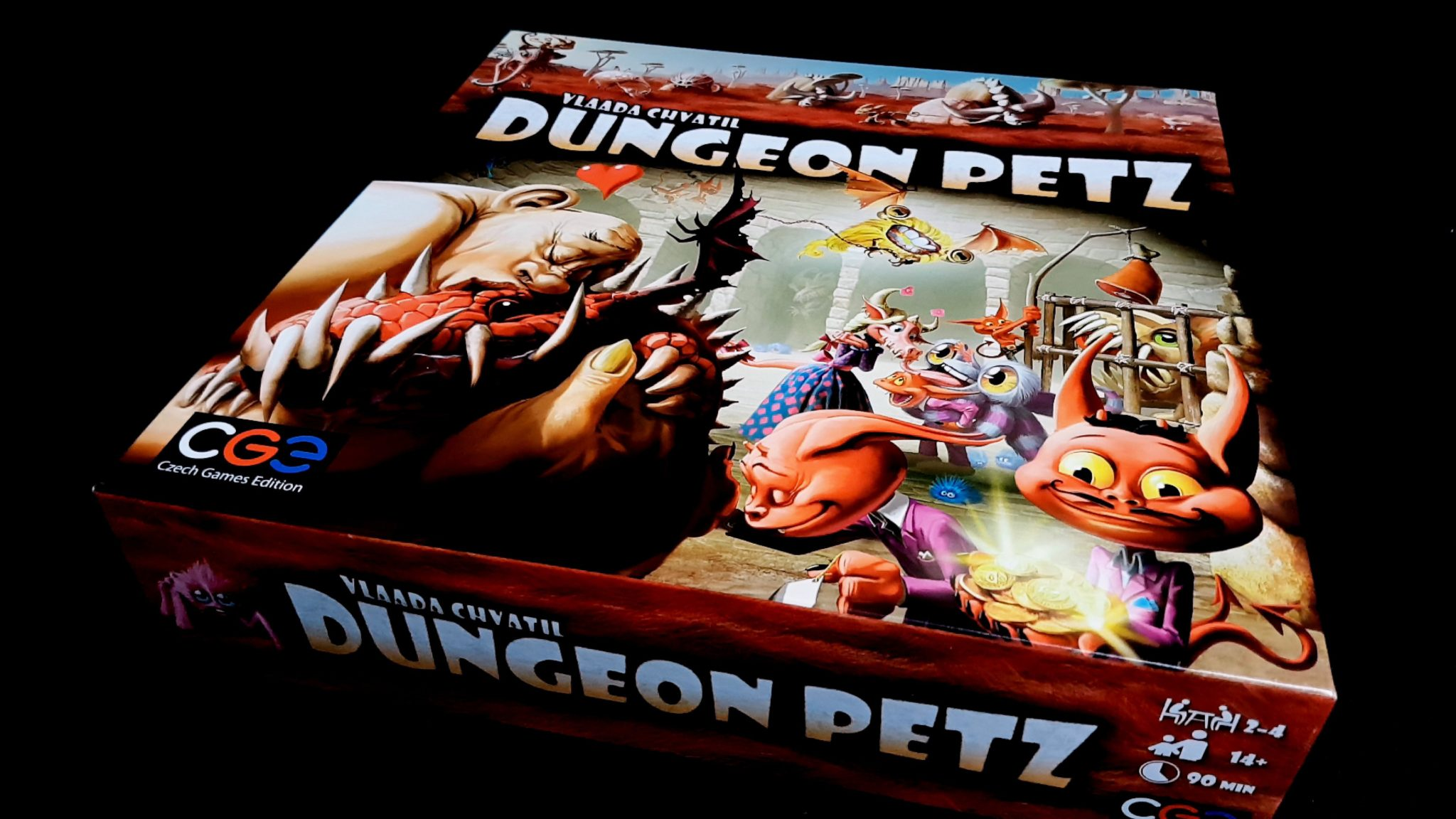 Dungeon Petz box
