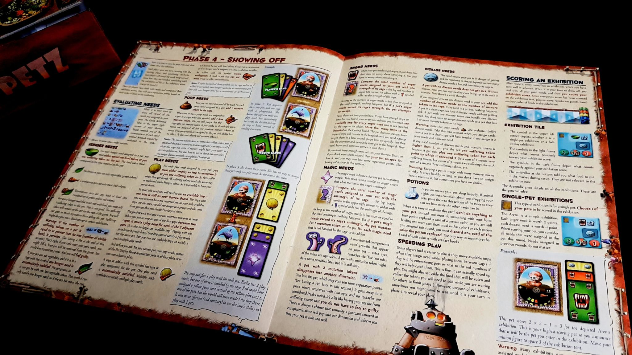 Dungeon Petz rulebook