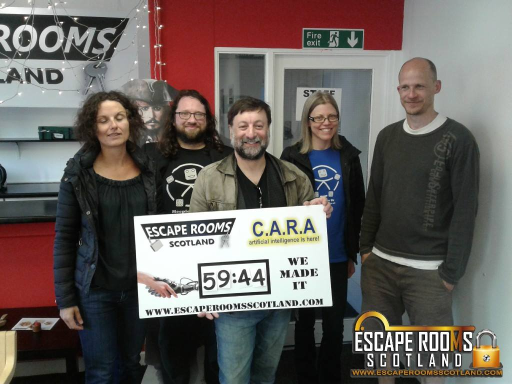 Our escape room experience