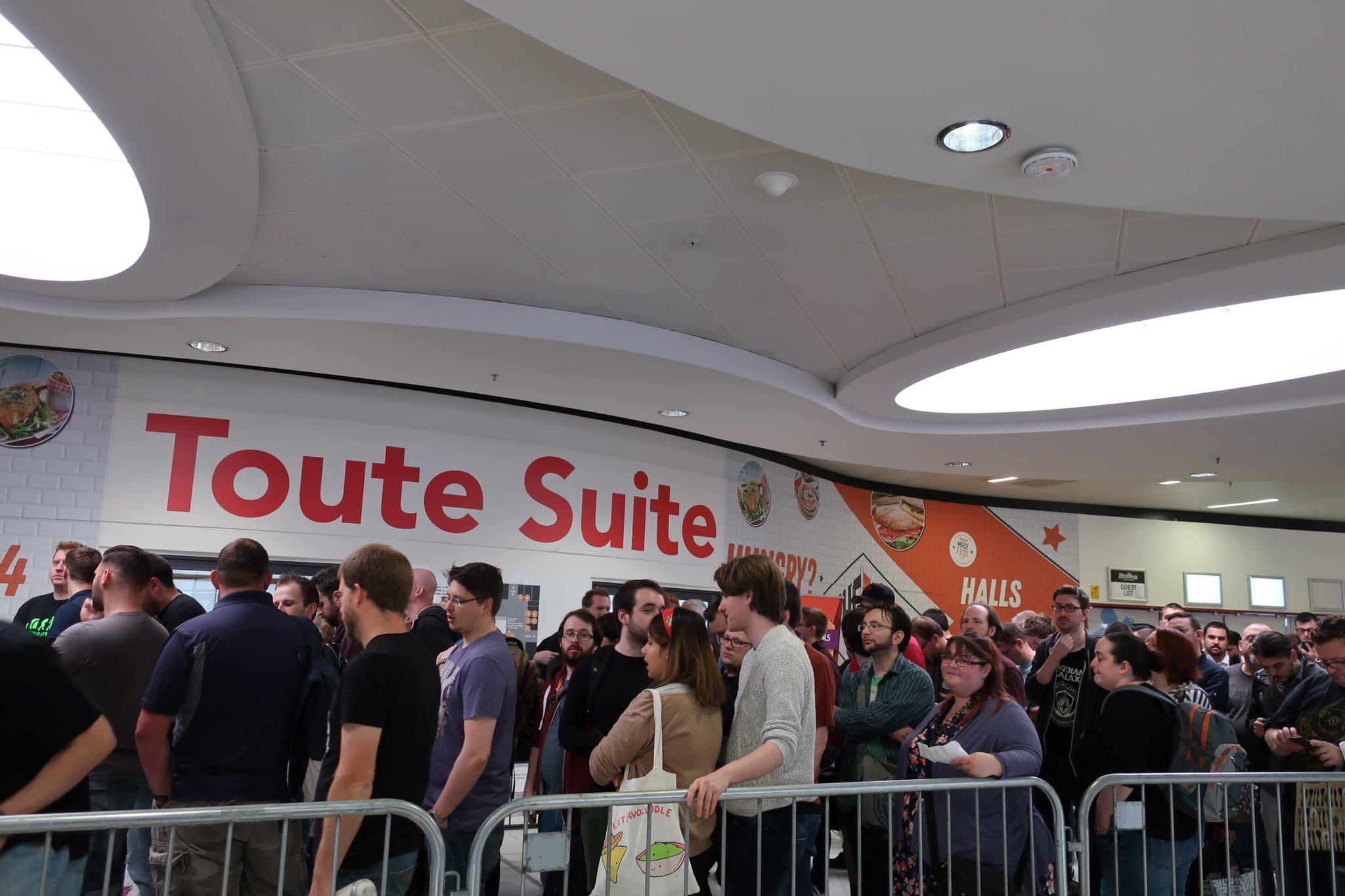 The ticket queue