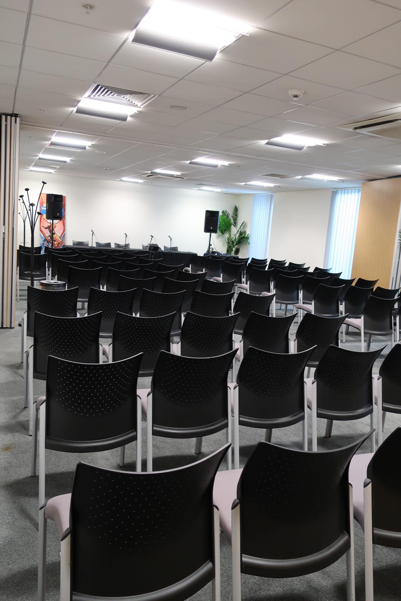 The seminar room