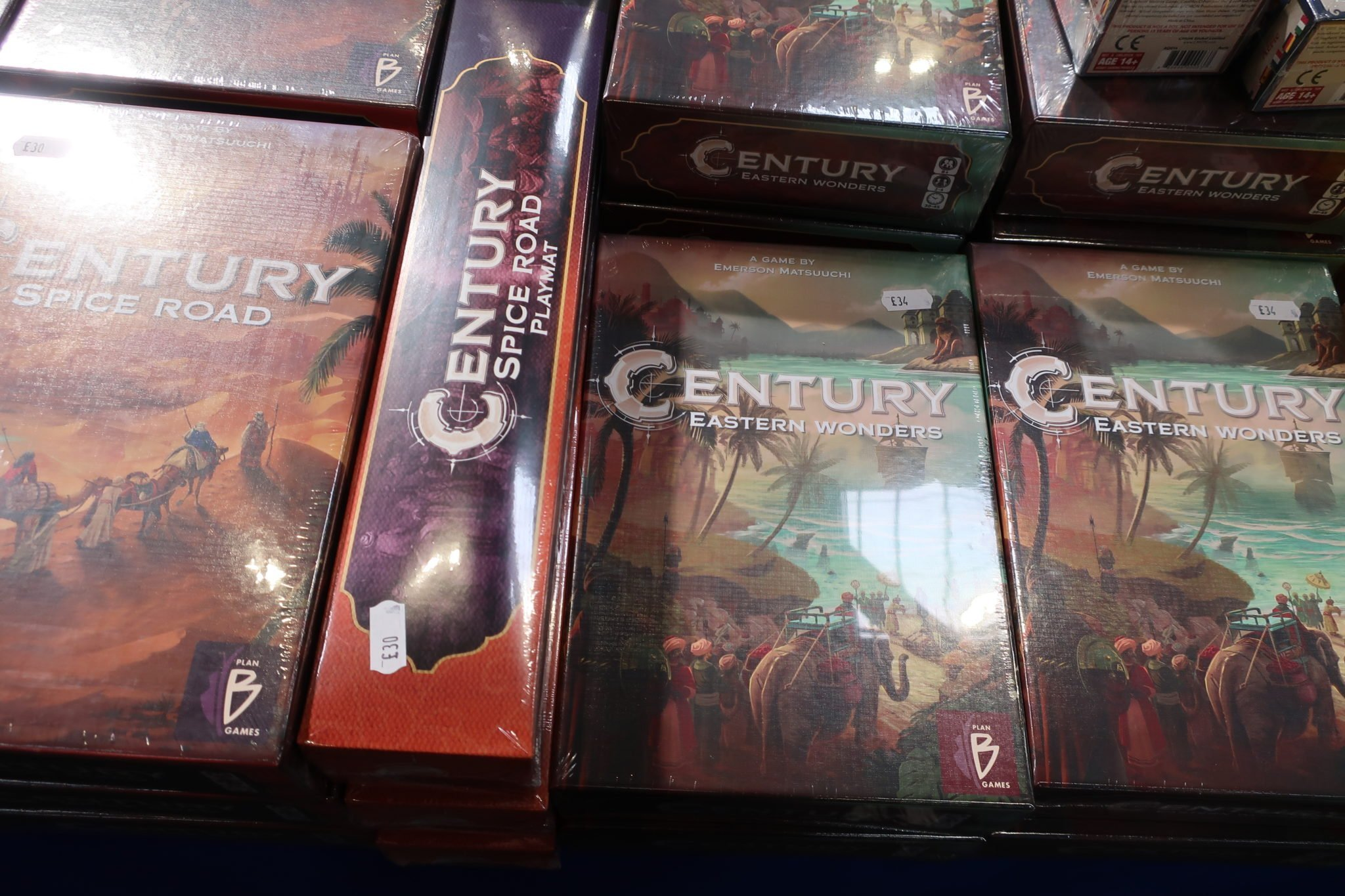 Century on a trade stall