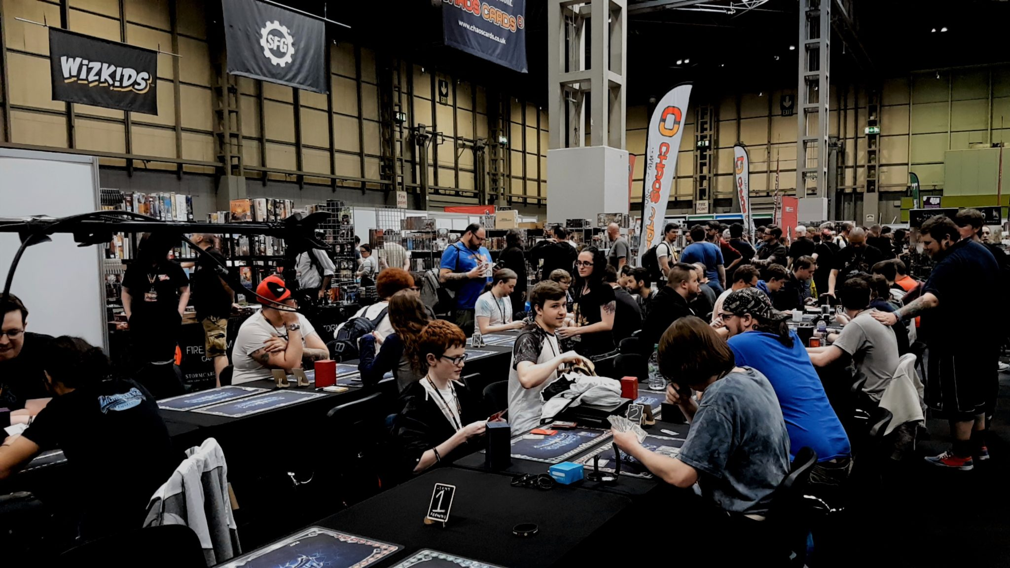 UKGE attendance