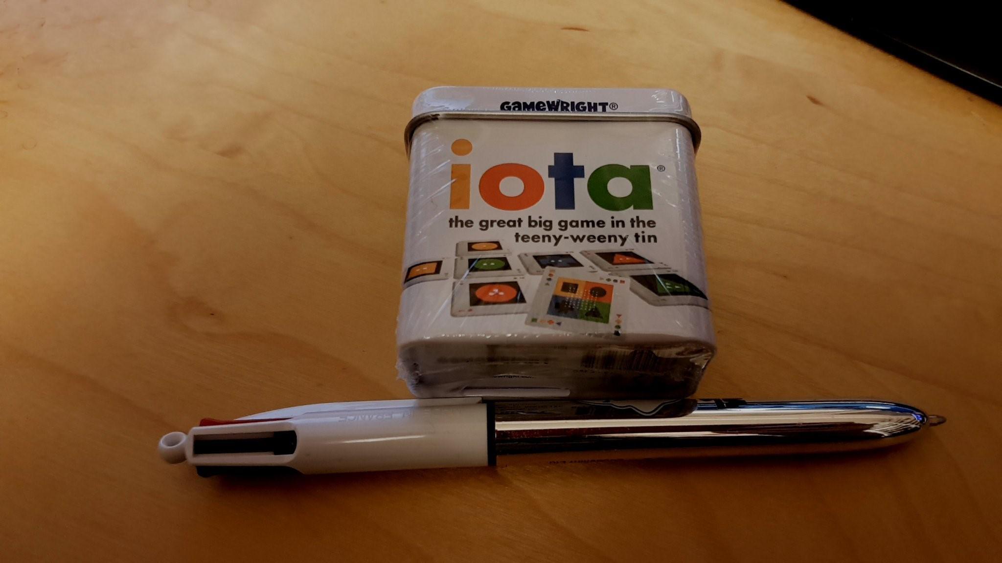 Tiny Iota tin