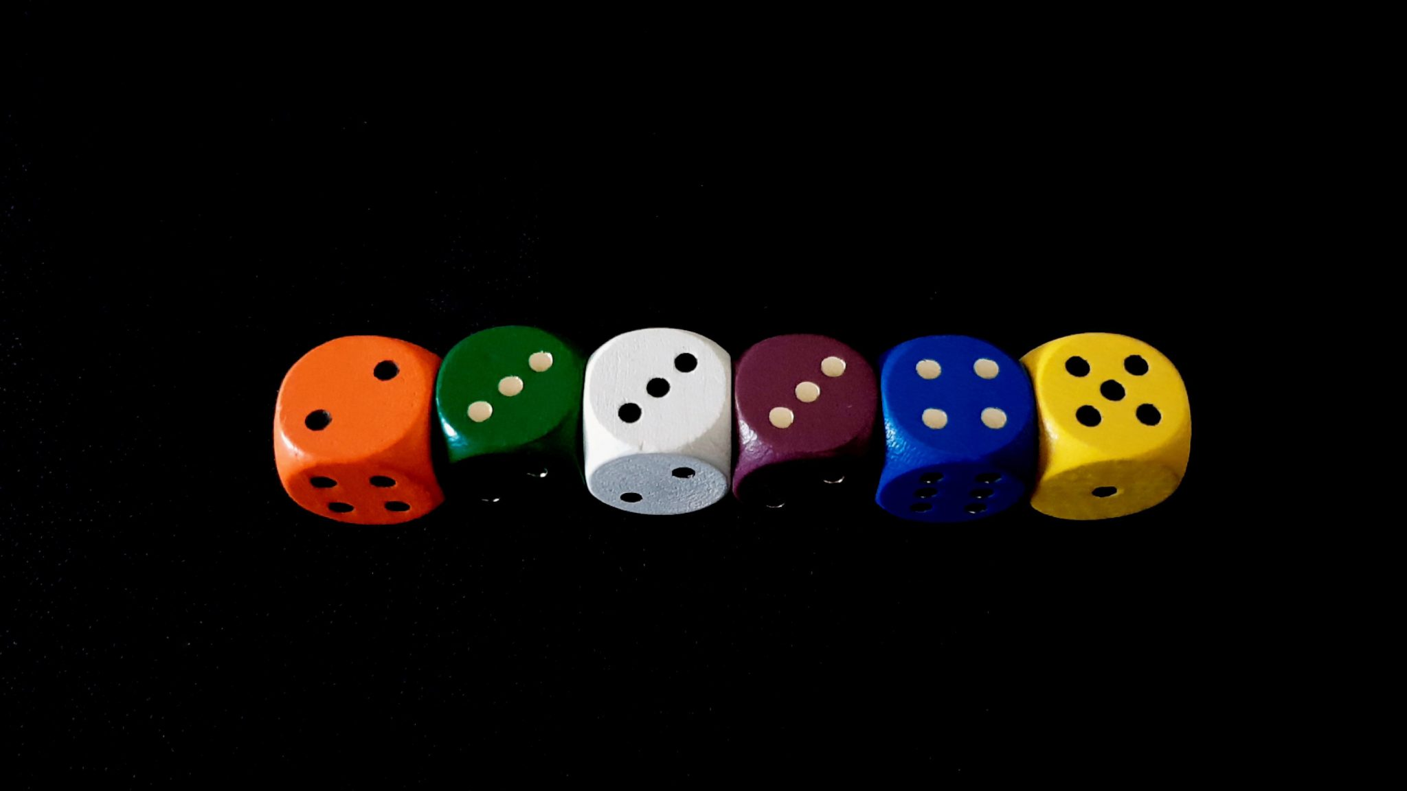 Rolled dice