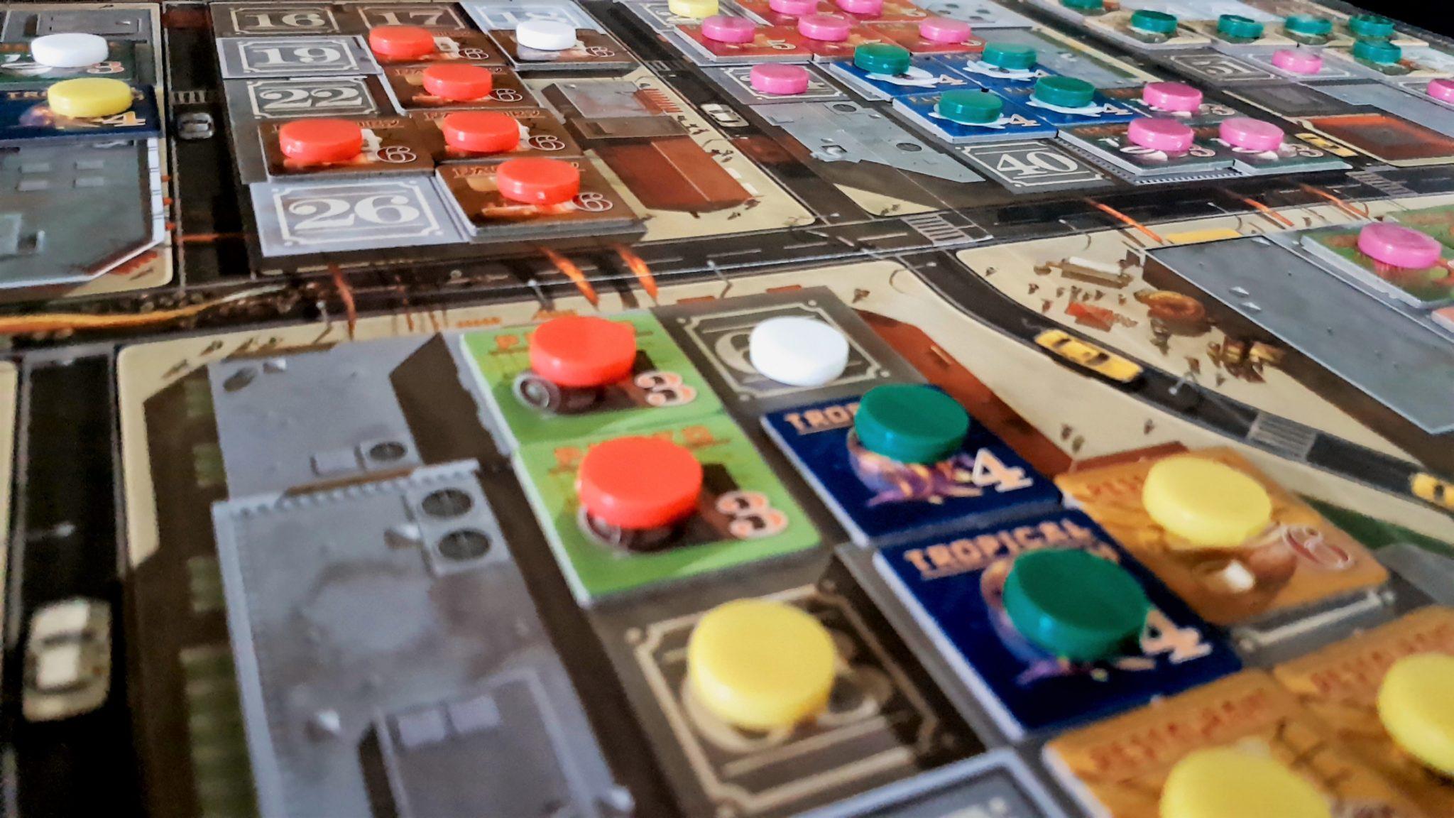 Sprawling game state