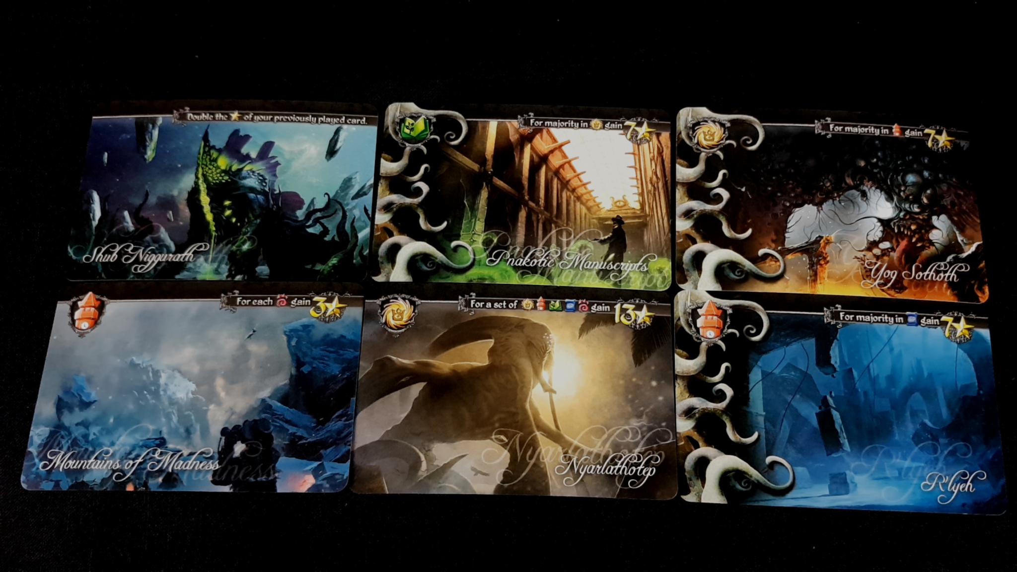 Tides of Madness cards