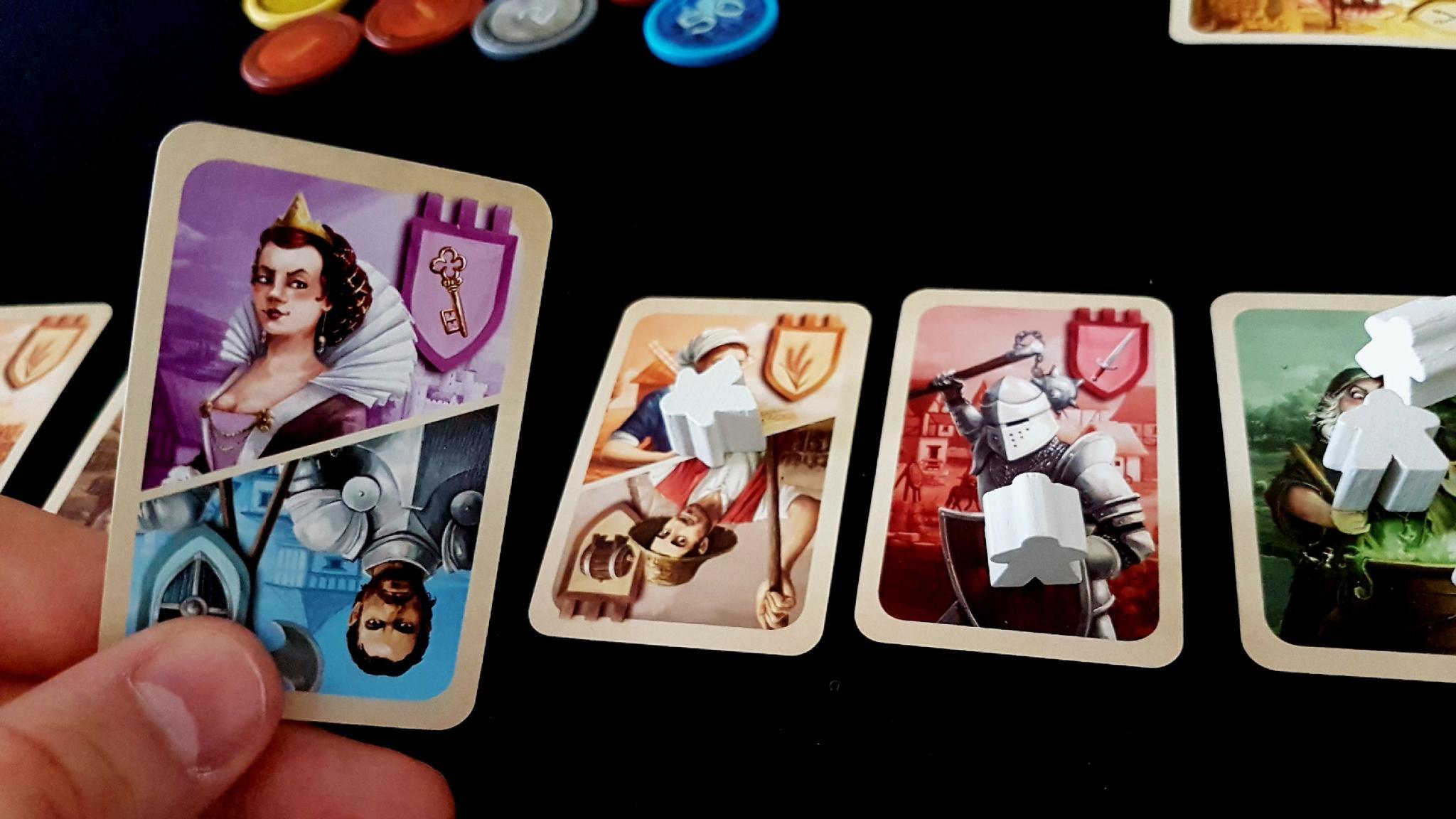 A split card