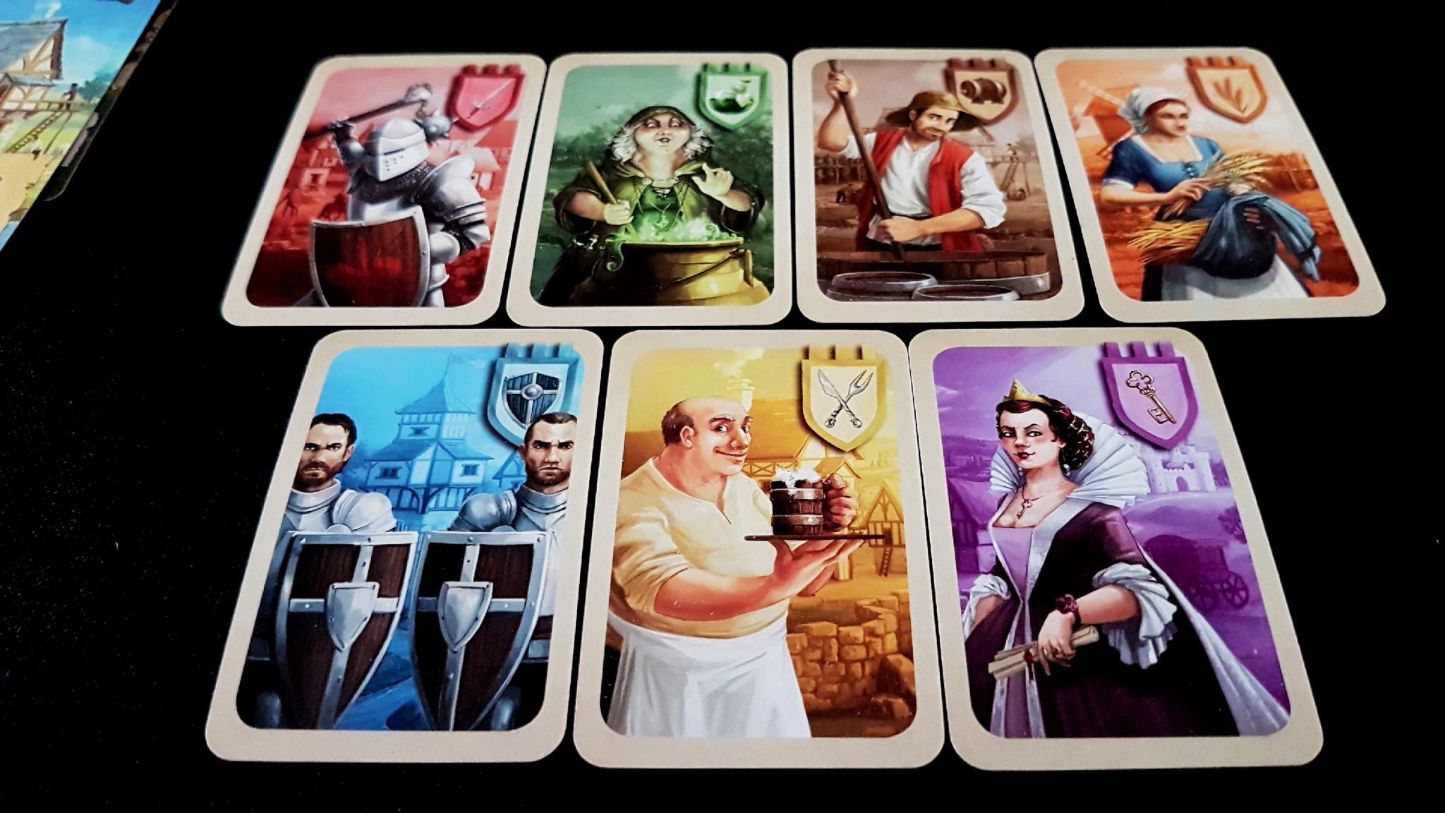 Villager cards