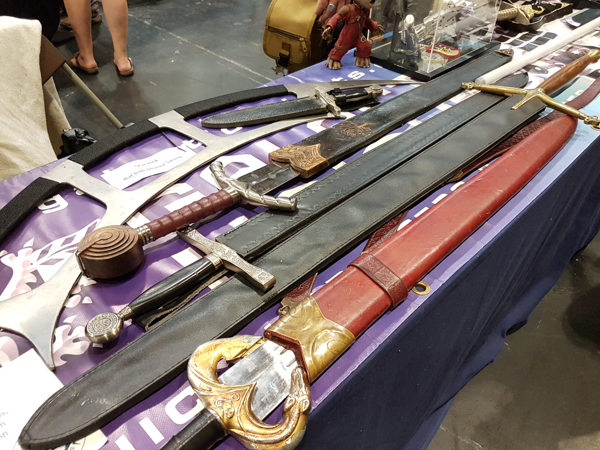 Some swords from UKGE