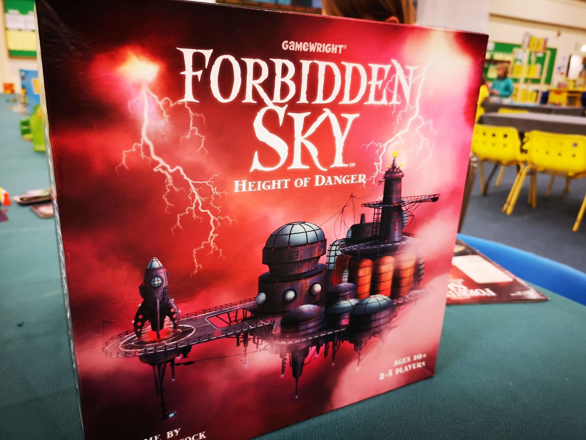 Forbidden Sky box