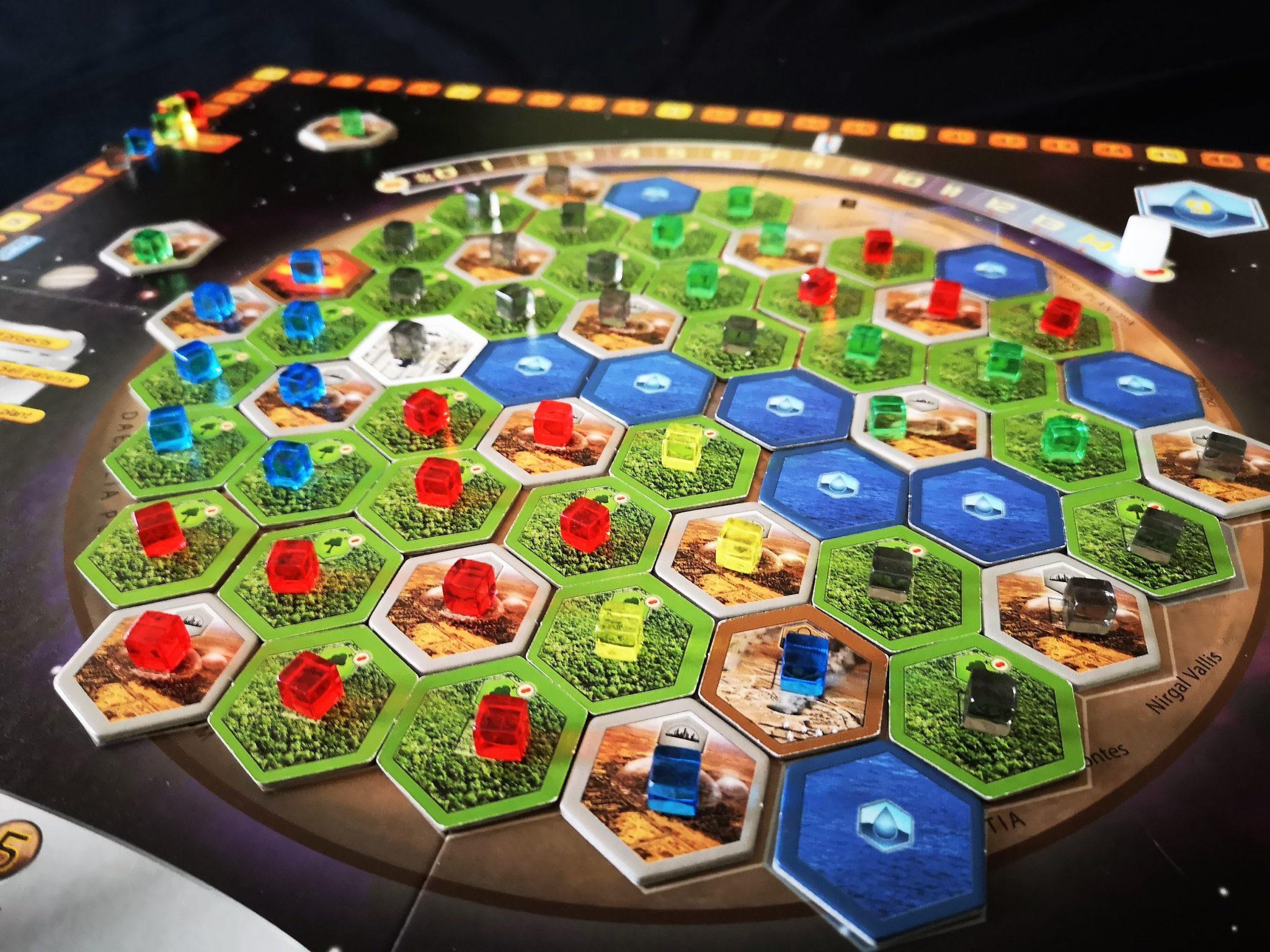 Full Terraforming Mars board