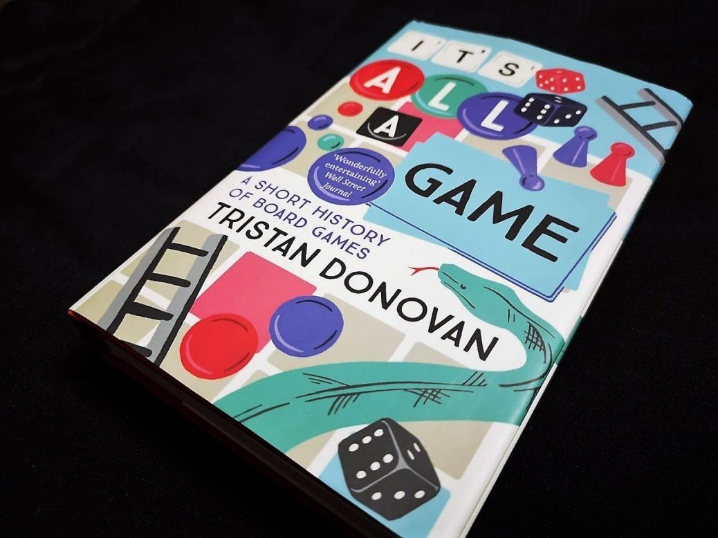 It's All A Game Book Jacket