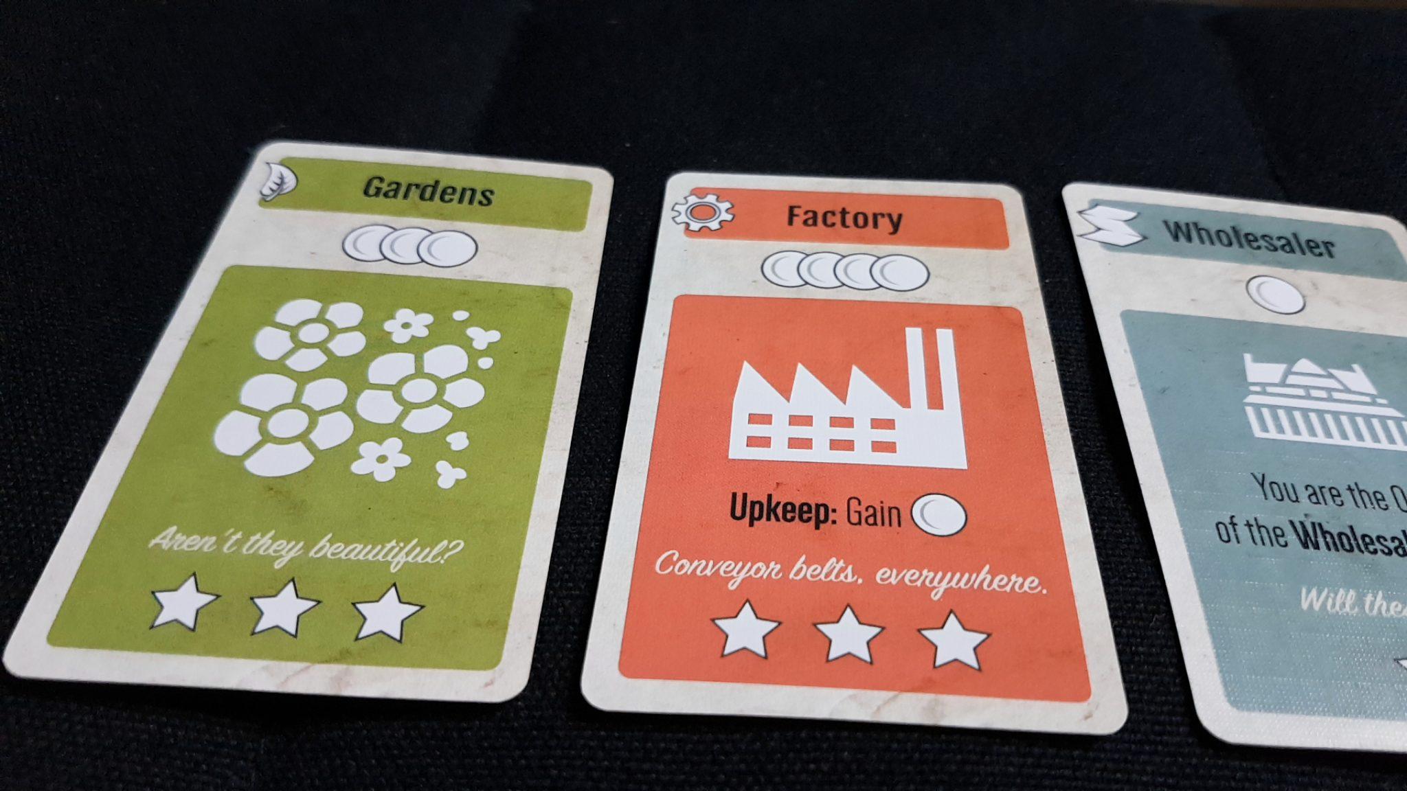 Plan cards