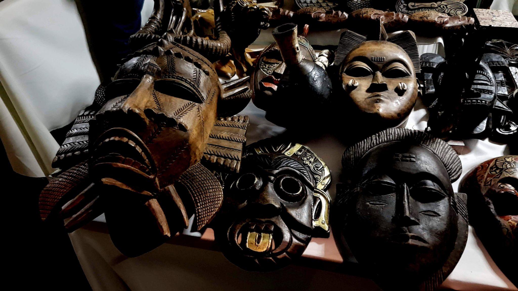 Scary masks for no reason