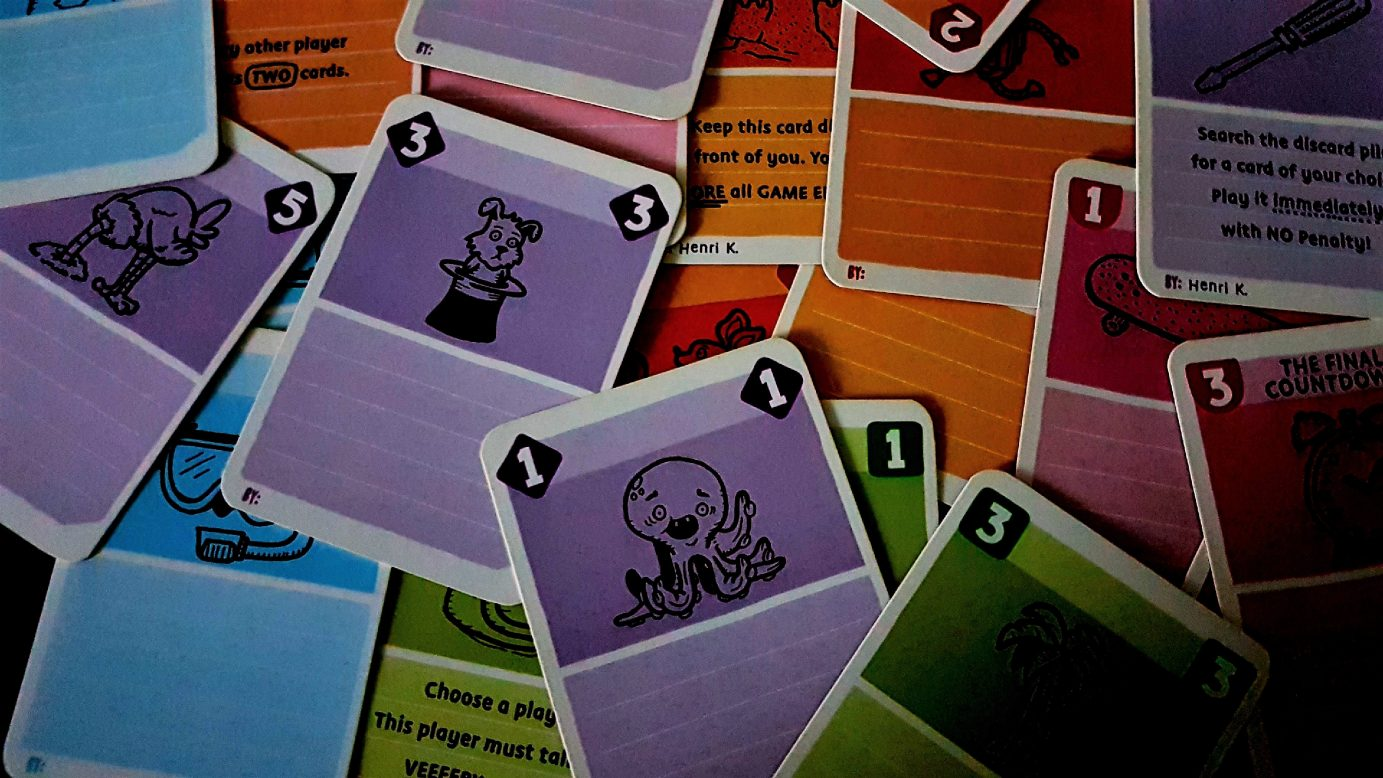 Cards in Blank